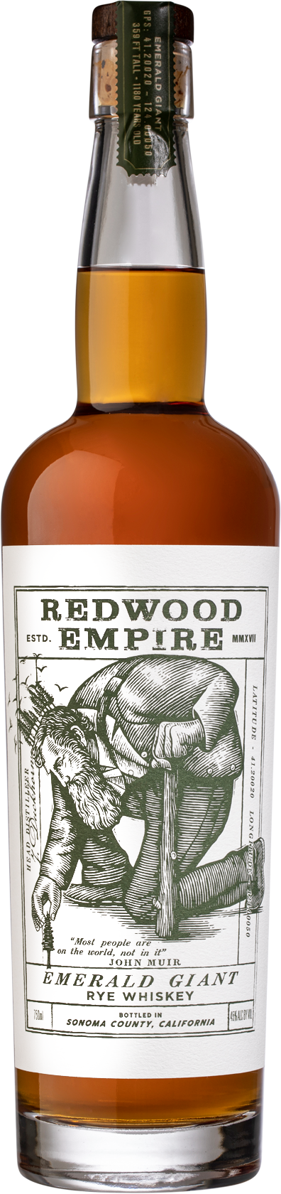 Redwood Empire - Emerald Giant - Rye Whiskey