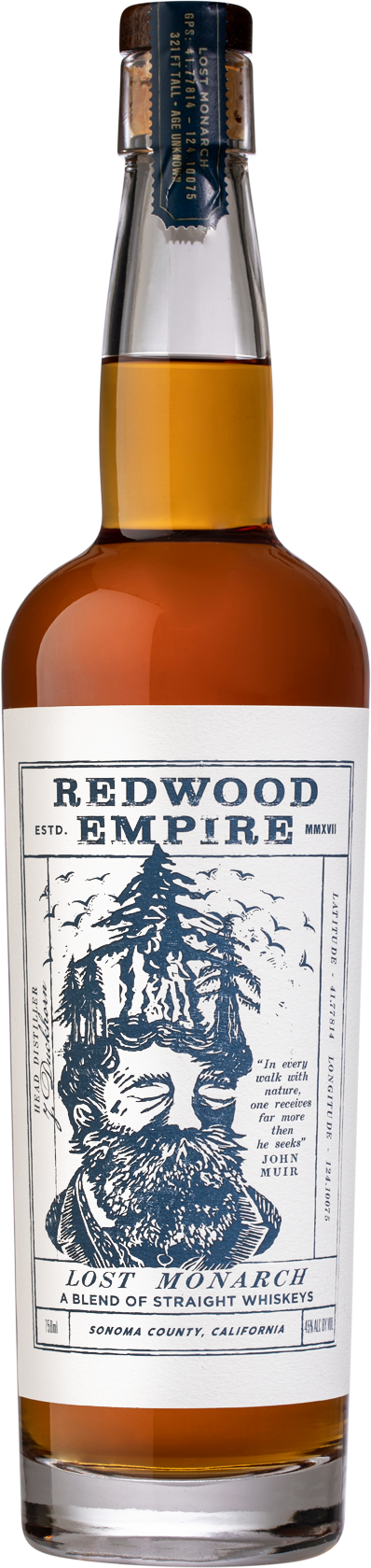 Redwood Empire - Lost Monarch - A Blend of Straight Whiskeys